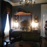 Nottoway Plantation beautiful master bedroom.