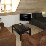 Livingroom in small apartment
