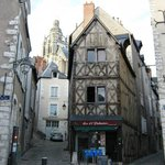 Medieval part of Blois
