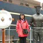 Visiting the royal yacht