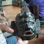a beautiful jade mask