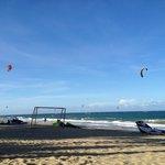 Kite Boarding at Cabarete beach