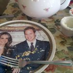 Will and Kate plates.