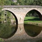 Whence the name - real roman bridge
