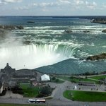 View of Horseshoe Falls from room