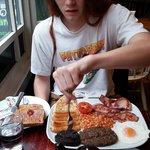 The Scottish breakfast