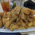 Seafood platter... 1/2 platter!