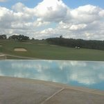 Adult Pool overlooking first fairway of Canyons Course
