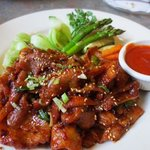 Spicy Korean Pork at it's best