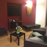 Sala de estar da Suíte