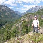 View of Stehekin Valley from Rainbow Loop Trail.