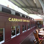 Carriage Cafe - Outside Carriage on Deck