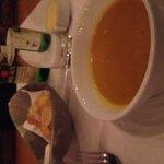 Pumpkin soup (complimentary)