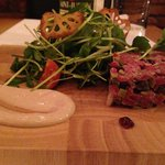 The beef dish (starter)