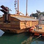 Historic boat replica