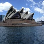 Sydney Opera House from harbor cruise
