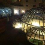 le cupole di notte