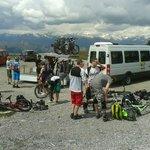 Bike Shuttle Station Foto
