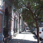 Calle en el barrio Santa Maria de la Ribera