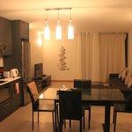 Kitchen + Living Area