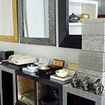 Lacquer home accessories: trays, vanity sets, boxes, mirrors and furniture