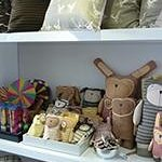 Handwoven cushions and toys