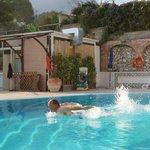 Enjoy swimming in October