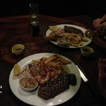 The Shack Surf and Turf
