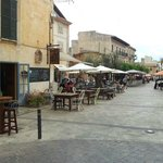 plaza mayor de santanyi