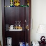 mini bar in guest room