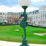 Golfplatz (vor dem Hotel)