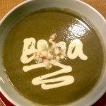 Shrimp-and-mashroom soup