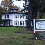 The Black Sheep Inn just steps from Lake Keuka & the Finger Lakes Wine Trail