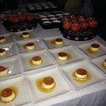 Desserts lors d'un mariage