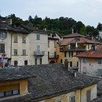 Il borgo visto dal terrazzo