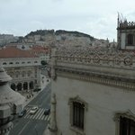 Photo from my window at Hotel Avenida Palace of Lisbon