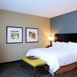 King Bedroom at the Hampton Inn Crystal River