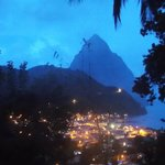 Soufriere at night