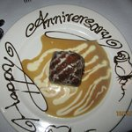 A special touch on an incredible dessert. : )