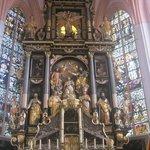 particolare dell'altare maggiore