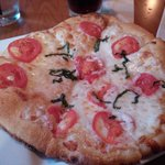 Margherita hand-tossed pizza