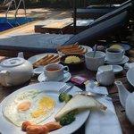 breakfast was simply delicious