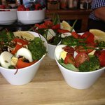 Colour, texture and taste - our salads