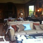 Fabulous comfy sofas in the Castle