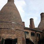 bottle kilns - outside