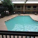 Lage, warm pool just below our room.