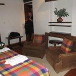 Smallest room's sitting area