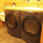 included washer/dryer!