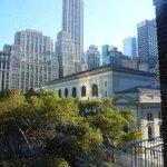 Arrière de la célèbre New York Public Library