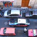 Verkehrssituation in der Nebenstraße